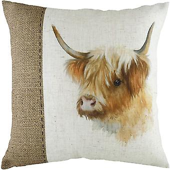Evans Lichfield Hessian Highland Cow Kudde Omslag