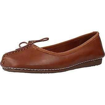 Clarks Dancers Freckle Ice Color Leather
