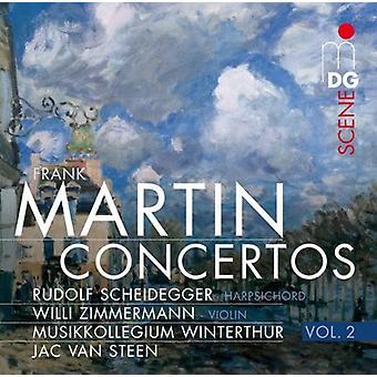 F. Martin - Frank Martin: Concertos, Vol. 2 [CD] USA import