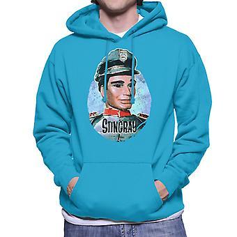 Stingray Troy Tempest Men's Hooded Sweatshirt