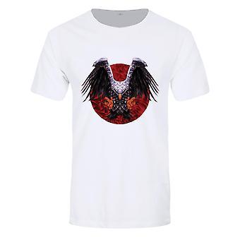 Unorthodox Collective Mens Geometric Eagle T-Shirt
