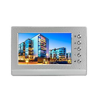 """7"""" Indoor Monitor Wired, 1000 Tvl Visual Door, Phone Doorbell Kit- Day Night"""