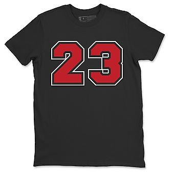 Number 23 T-Shirt Jordan 14 Gym Red Sneaker Outfits - AJ14 Toro Top