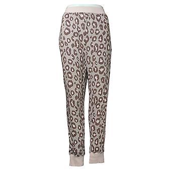 Cuddl Duds Women's Jogger Pajama Pants Pink A381802