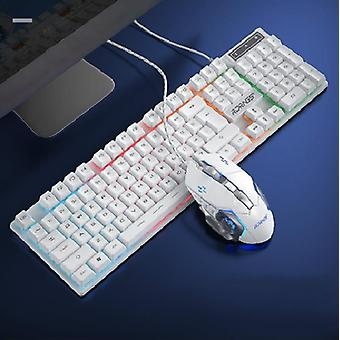 Gaming Keyboard And Mouse, Wired Backlight, Keyboard Silent Gaming, Mouse Set