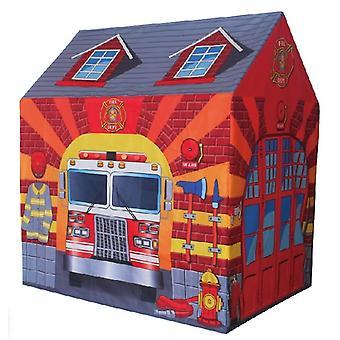Play namiot firehouse - Namiot dziecięcy 102x72x95