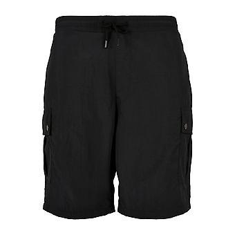 Urban Classics - Nylon Cargo Shorts black