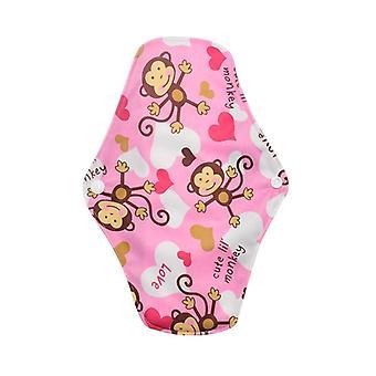 18 * 25 cm kuukautiset yökäyttö Naiset Naisten hygienia Uudelleenkäytettävä Kuukautistyyny