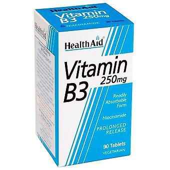 健康補助ビタミンB3ナイアシンアミド90錠