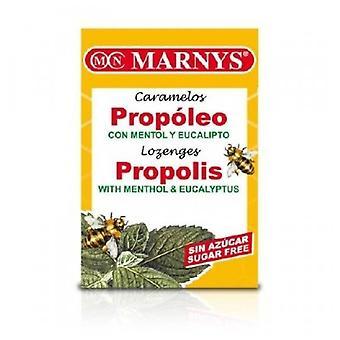 Marny's Candies Propolis Menthol and Eucalyptus Sugar Free 20 Units 36,5 gr