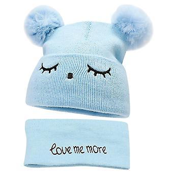 Winter Hat Bonnet Enfant Knitted Cute Cap