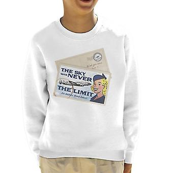 Pan Am The Sky Was Never The Limit Kid's Sweatshirt