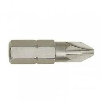 Irwin 10504339 Bits (10) de chave de fenda Pozi Pz2 25mm
