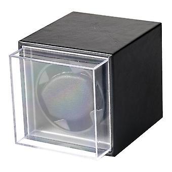 Usb Power Supply Black Mechanical Watch Winding Box Bijoux Organisateur de stockage