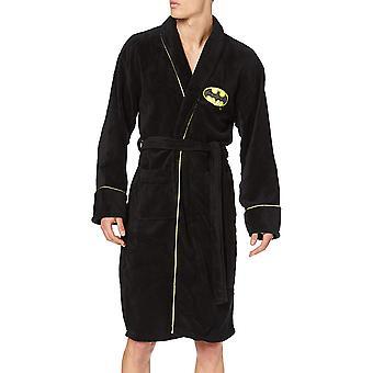 Klassische Batman (DC Comics) Unisex Fleece Dressing Kleid schwarz