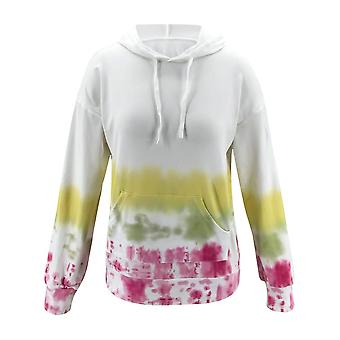 Ladies Autumn And Winter Fashion Casual Printed Hooded Sweatshirt