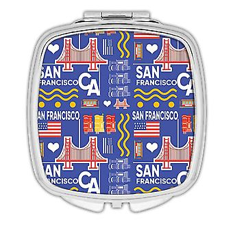 Gift Compact Mirror: San Francisco Adventure