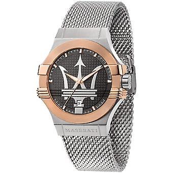 Maserati R8853108007 Men's Steel Mesh Potenza Wristwatch