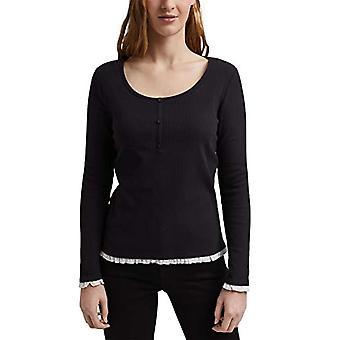 edc av Esprit 021CC1K305 T-Shirt, 001/black, XL Women