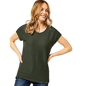 Cecil 316240 T-Shirt, Utility Olive, M Woman