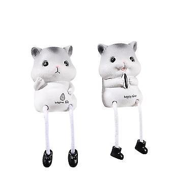 Hanging Feet Doll Ornaments Hamster