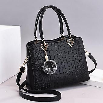 Large capacity fashion handbags leather hand bag
