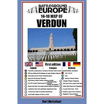 Verdun Carte Du Champ de bataille Europe Cartes