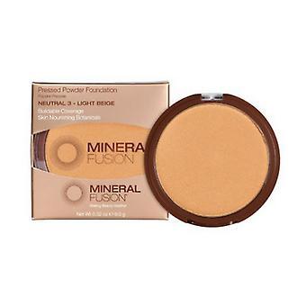 Mineral Fusion Foundation Pressed Powder, Natural 3 .32 Oz