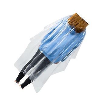 Einweg-Haar-Dye Schal Öl Tuch Haar Haar Kunststoff wasserdichte Matte Verdickung Einwegfilm für Erwachsene Mann Frau
