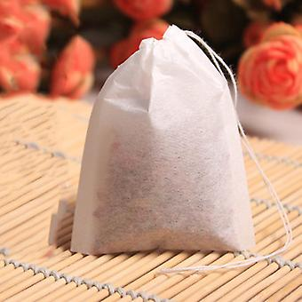 100db / készlet Üres Teabags String Heat Seal Filter Paper Herb Laza Tea táskák