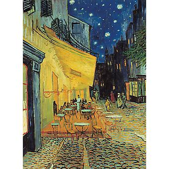 Clementoni Museum Van Gogh Cafe Terrace At Night High Quality Jigsaw Puzzle (1000 Pieces)