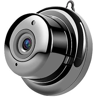 Mini WiFi Kamera 1080P HD Kamera Vauvamonitori Lemmikkieläinten turvakamera 150 ° Infrapuna Yönäkö Laajakulma Liikkeentunnistus Office Garage Home (musta)