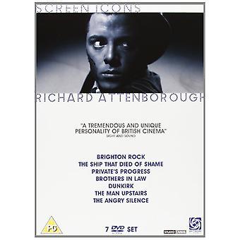Richard Attenborough - Screen Icons Collection DVD 7-Disc Set