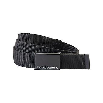 DC Web Belt 3 Webbing Belt in Black