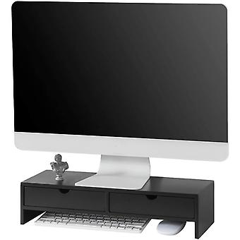 SoBuy Computer Screen Monitor Desk Organizer,BBF02-SCH