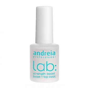 Esmalte de uñas Lab Andreia Strenght Boos Base - Top Coat (10,5 ml)