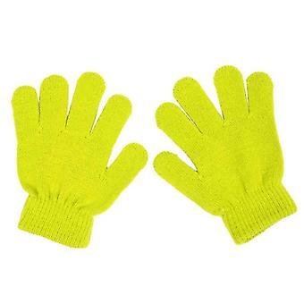 Zimowe słodkie i rękawiczki Finger Point Knit Stretch Mittens