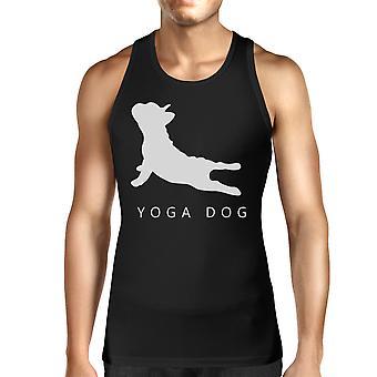 يوجا الكلب سيدات خزان أعلى اليوغا قميص بلا اكمام لطيف هدايا يوغي