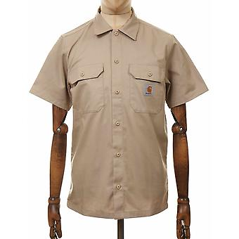 كارهارت WIP قصيرة الأكمام الرئيسية قميص - الجدار