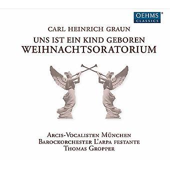 Graun / Poplutz / Gropper - Weihnachtsoratorium [CD] USA import