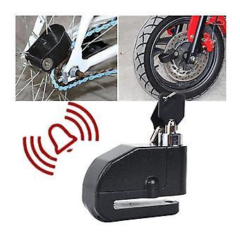 motorsykkel plate lås alarm 120db motorsykkel 1m påminnelse kabel