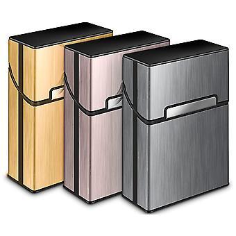 3 Stück Metall-Zigarettentasche