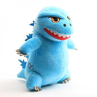 Venalisa Godzilla Plush Toy Soft Plush Doll (blue)