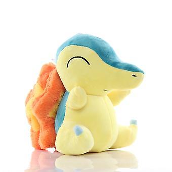 20cm Takara Tomy Pokemon Cyndaquil Pehmolelut Nukke Cyndaquil Pehmeät täytetyt eläimet Muhkeat Nuket Lapsille Lapset Syntymäpäivä Lahjat