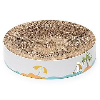 Sofirn Cat Scratch Pad Durable Scratch Resistant Round Cardboard