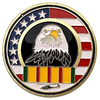American Eagle Head 911 World Trade Building Vergoldete Gedenkmünze Sammlung Münzabzeichen Goldmünze Münze Medaille