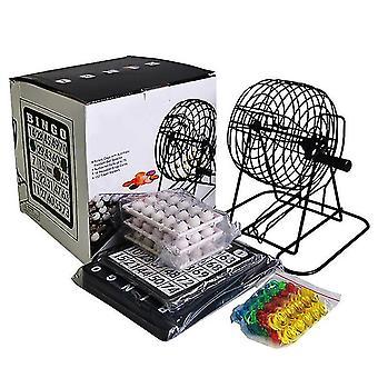 Party Table Games Deluxe Bingo Jeu Avec 18 Cartes