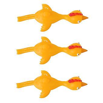 6 kpl /set Soft Tpr Finger Catapult Chick Lelu