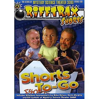Rifftrax: Shorts to-Go [DVD] USA import