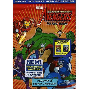 Ammirare l'importazione di Vendicatori Terre Mightiest Heroes vol. 5 [DVD] Stati Uniti d'America